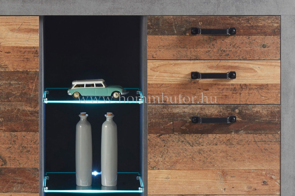 INDIGO nappali sor világítással 332x194 cm