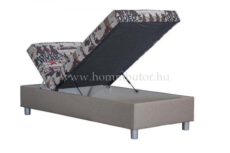 INEZ heverő ágyneműtartóval 90x200 cm