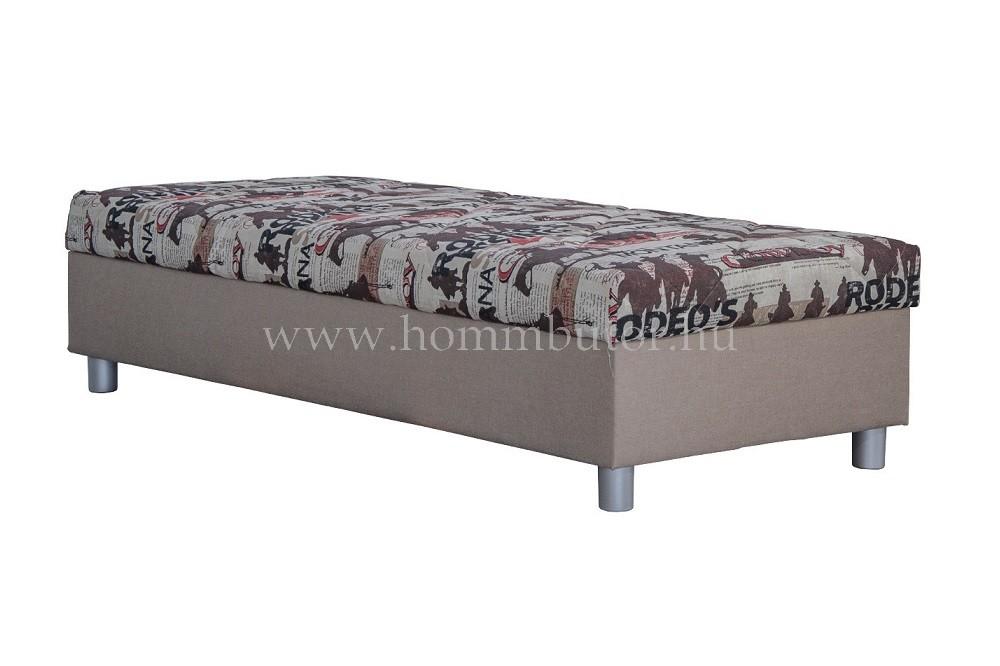 INEZ dupla rugós relax heverő ágyneműtartóval 90x200 cm