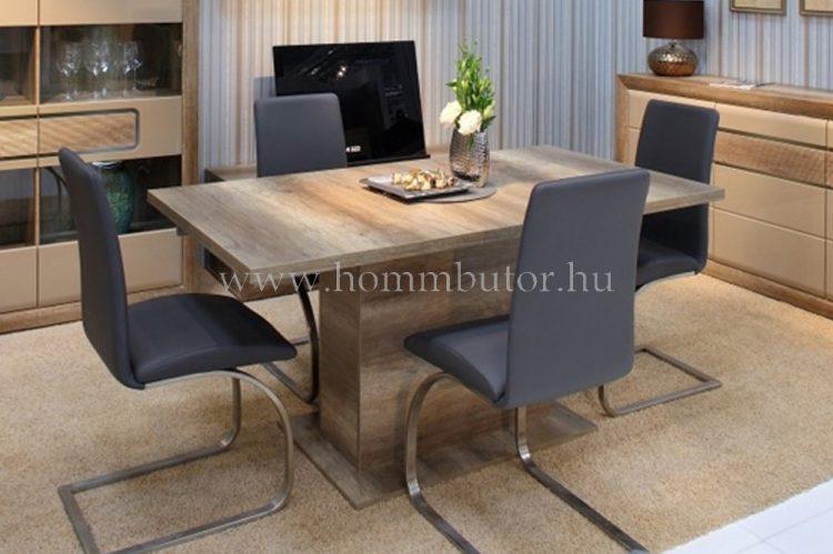 INGRID étkezőasztal 160x90 cm bővíthető antik tölgy színben