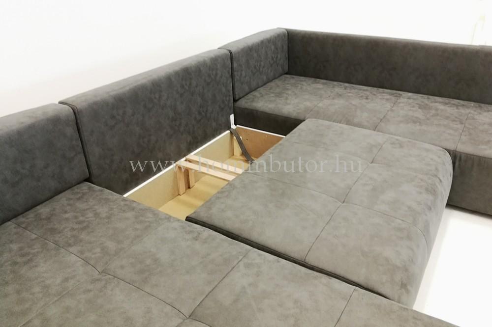 JANVIER  U-alakú ülőgarnitúra 360x200/180cm