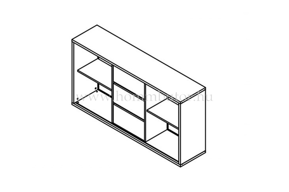 JOY komód 2 ajtós 3 fiókos 173x97 cm