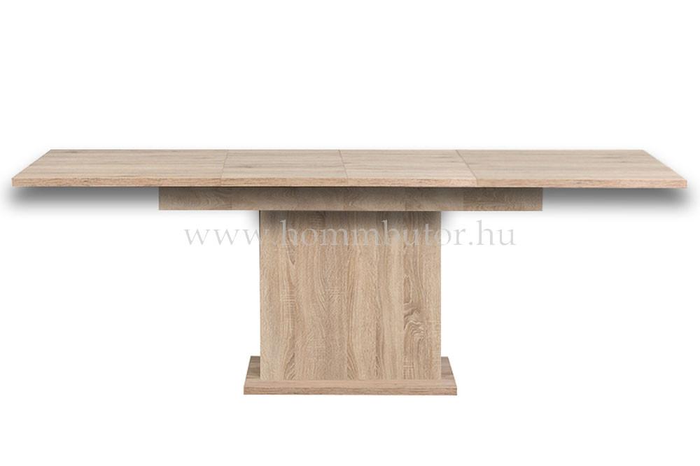 K-260 étkezőasztal 180x100 cm bővíthető világos sonoma tölgy színben