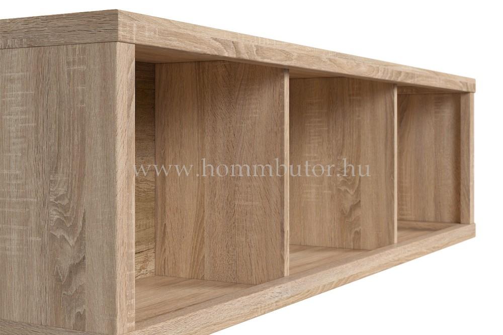 KASPIAN fali szekrény 144x40 cm