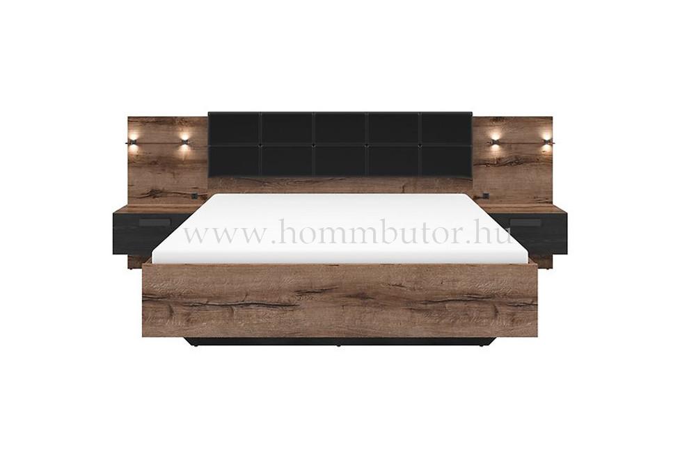 KASSEL fix vagy ágyneműtartós ágykeret 160x200 cm