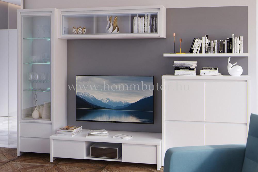 KASPIAN elemes nappali bútorcsalád kb. 305x201x56 cm * pl. TV-állvány *
