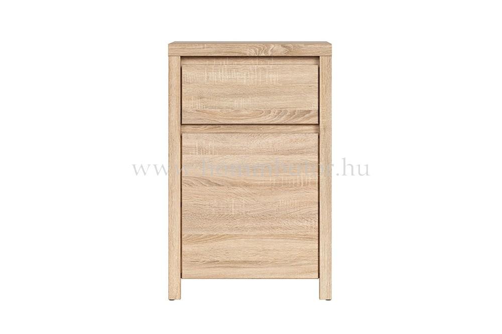 KASPIAN előszoba komód 1 ajtós, 1 fiókos 49x77 cm
