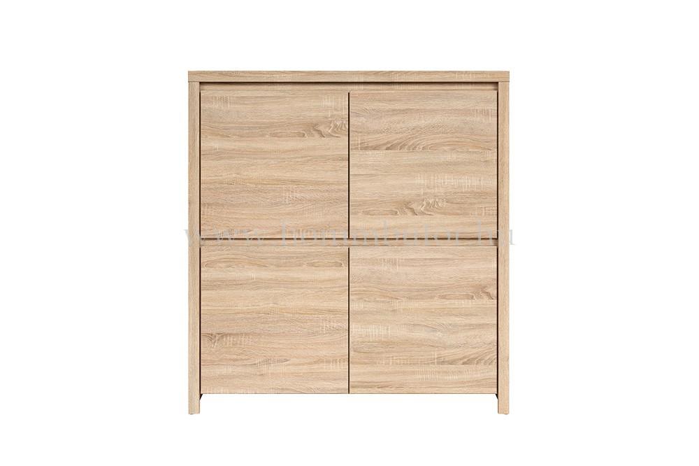 KASPIAN komód 4 ajtós 105x113 cm
