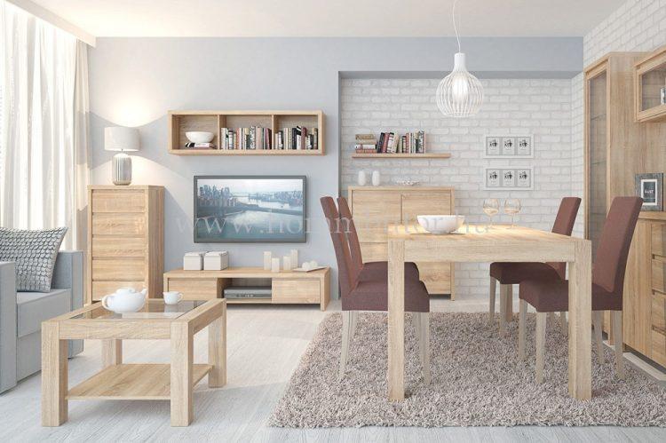 KASPIAN elemes nappali bútorcsalád kb. 249x195x56 cm * pl. TV-állvány *