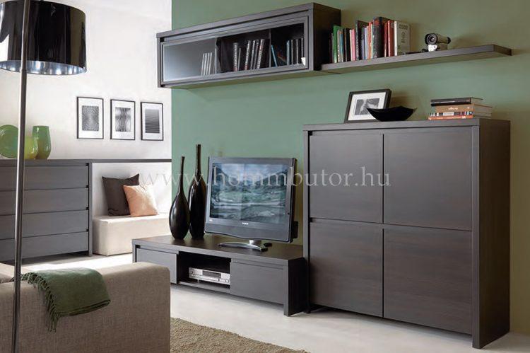KASPIAN elemes nappali bútorcsalád kb. 249x195x56 cm *pl. TV-állvány *