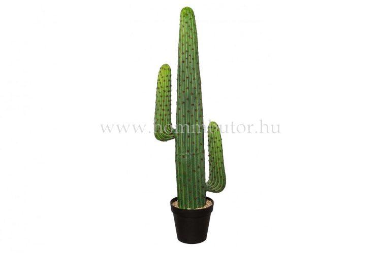 KAKTUSZ élethű növény dekoráció 127 cm magas