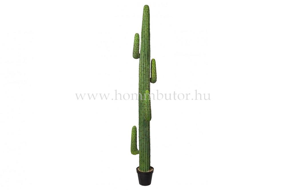 KAKTUSZ élethű növény dekoráció 235 cm magas
