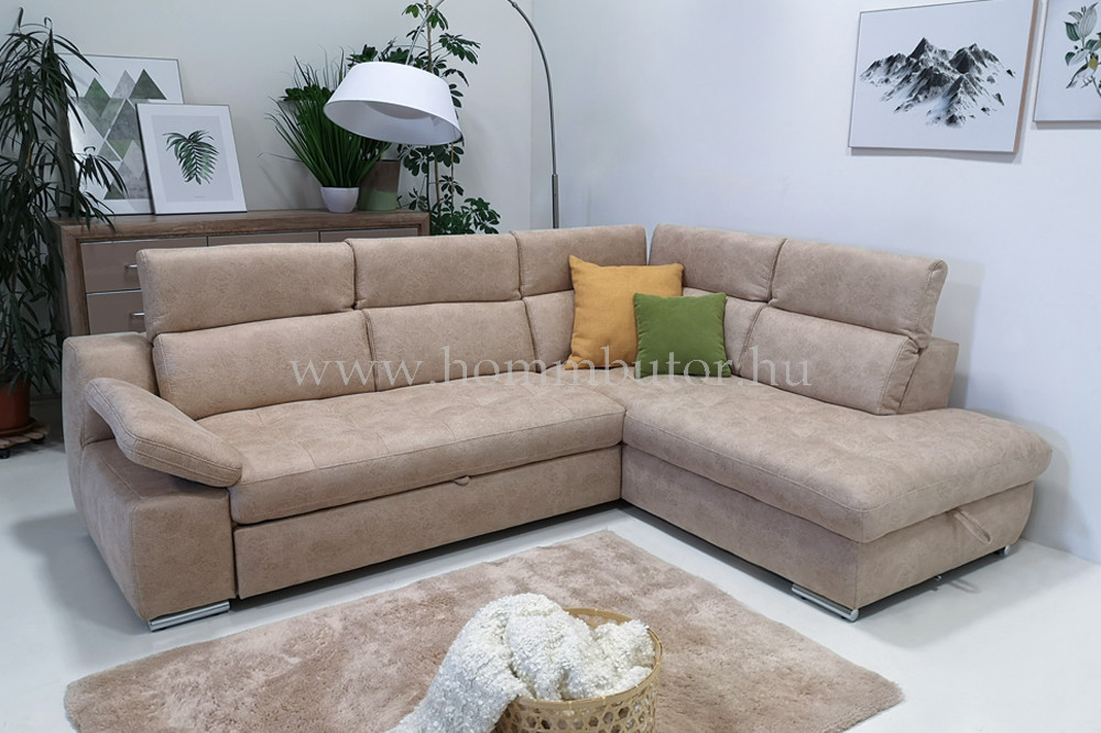LA MOUR L-alakú ülőgarnitúra 286x220 cm