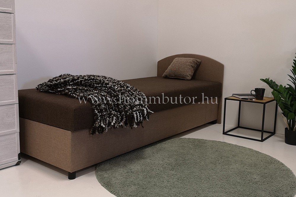 HOMM heverő bonell rugóval,  haboszlop megerősítéssel, ágyneműtartóval 90x200 cm