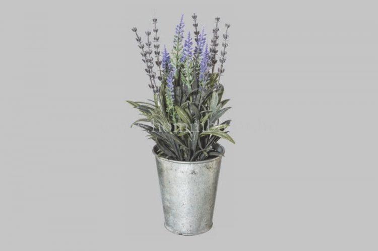 LEVENDULA élethű növény dekoráció 26 cm