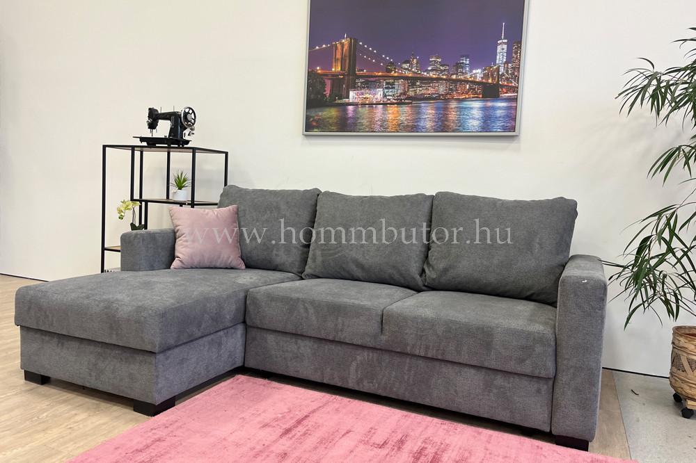 NALA kis méretű (230x158cm) L-alakú sarok ülőgarnitúra, ágyazható