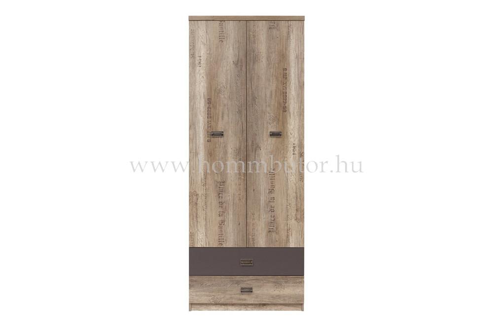 MALCOLM akasztós szekrény 80x206 cm