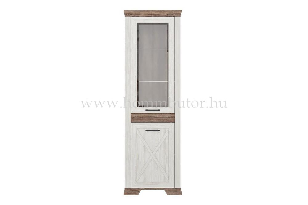 MARSELLE vitrines szekrény 67x211 cm