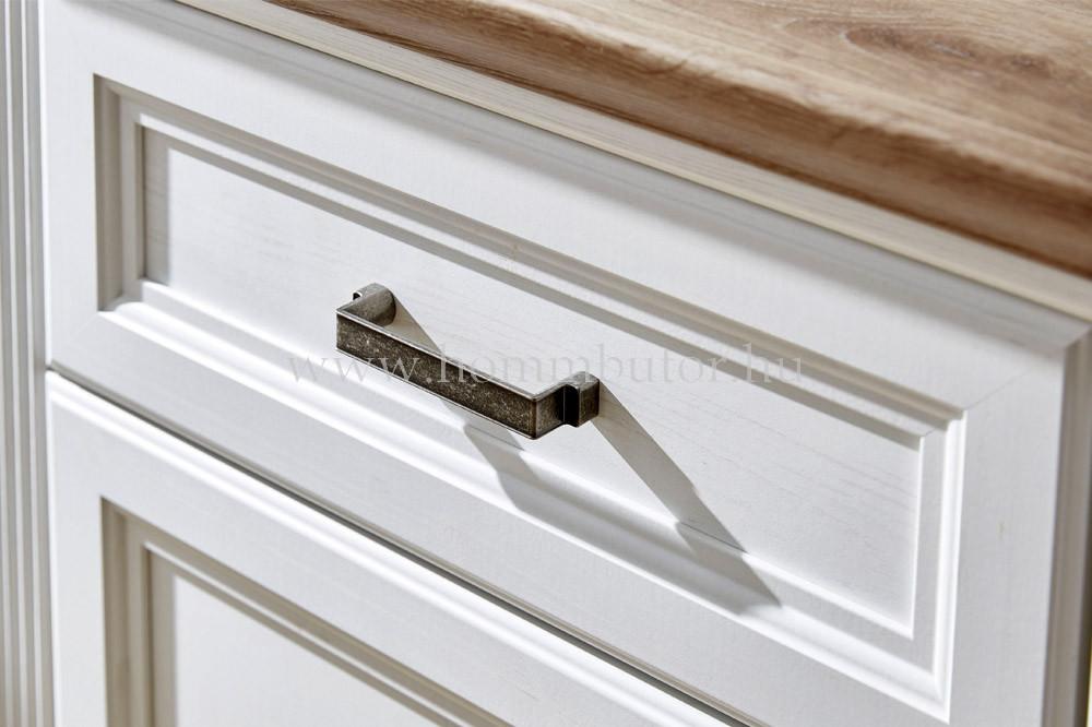 MENTA vitrines szekrény 1 üvegajtós 1 fiókos 1 ajtós 66x204 cm