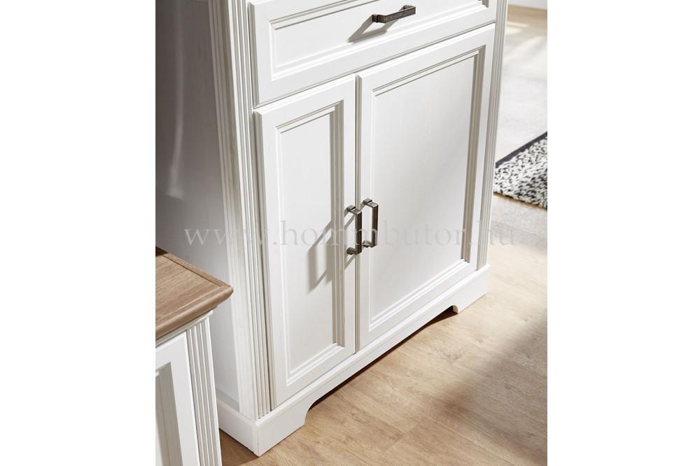MENTA magas komód 3 ajtós 1 fiókos 93x150 cm