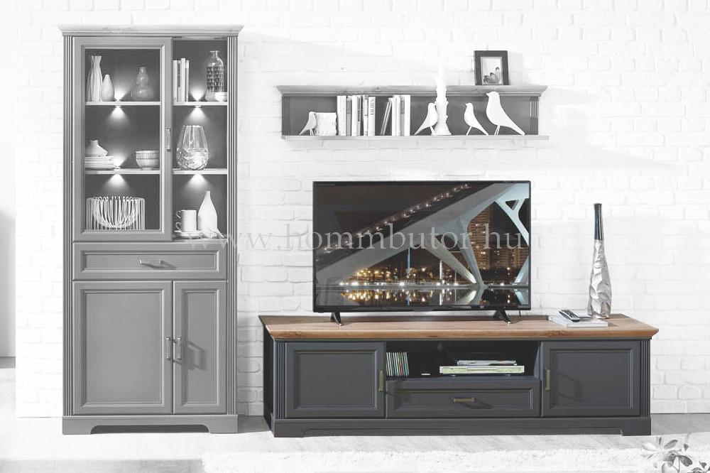 MENTA TV-állvány 1 fiókos 2 ajtós 193x54 cm