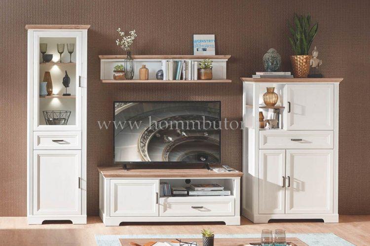 MENTA elemes nappali bútorcsalád kb. 302x204x51 cm * pl. TV-állvány *