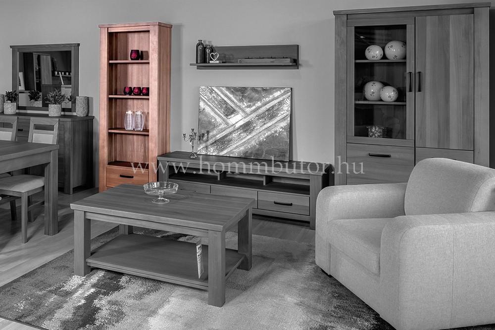 MODENA szekrény 1 fiókos 4 polcos 78x200 cm