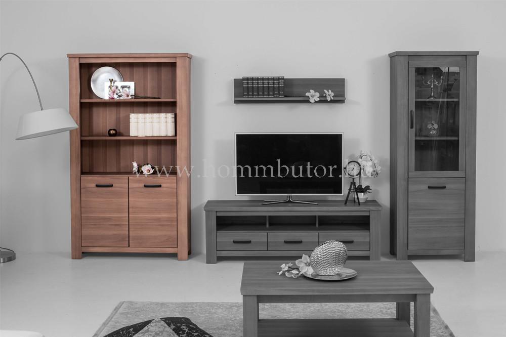 MODENA szekrény 2 ajtós 3 polcos 118x200 cm