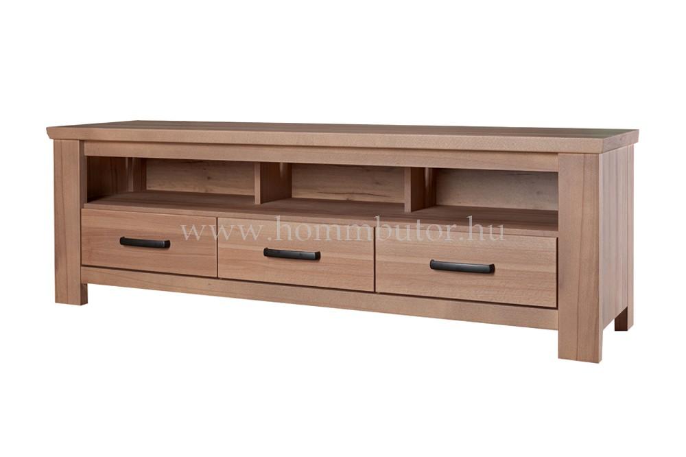 MODENA TV-állvány 3 fiókos polcos 169x54 cm