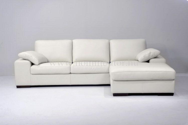 MONACO L alakú bőr ülőgarnitúra 277x183 cm