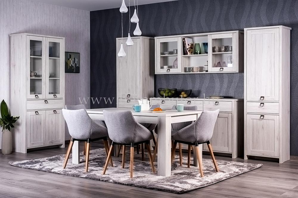 FARMER komód 3 ajtós 3 fiókos 159x90 cm