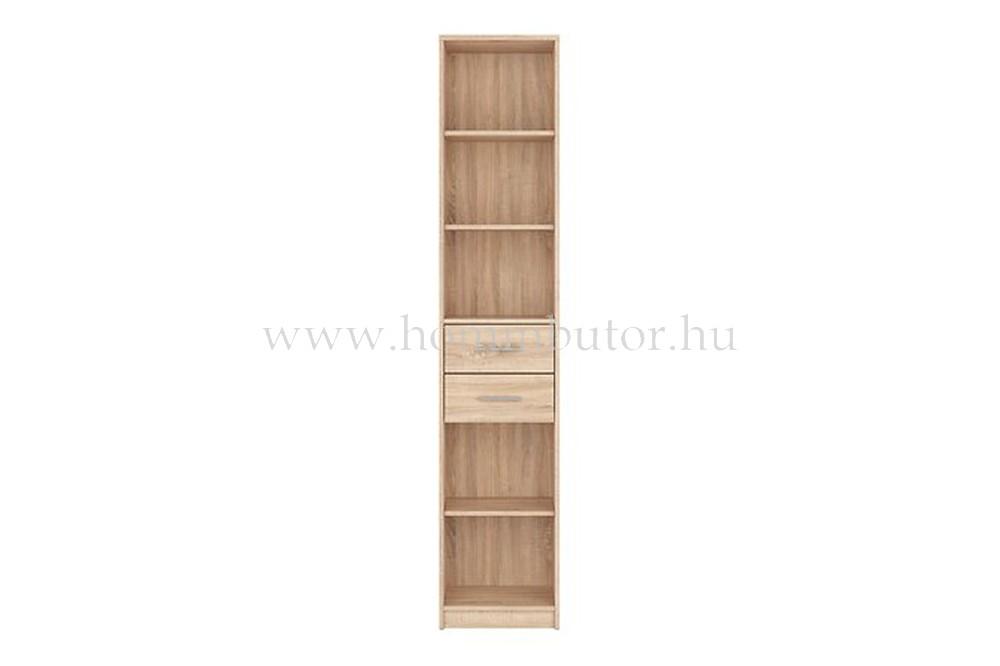 NEPO PLUS szekrény 2 fiókos, 3 polcos 40x197 cm