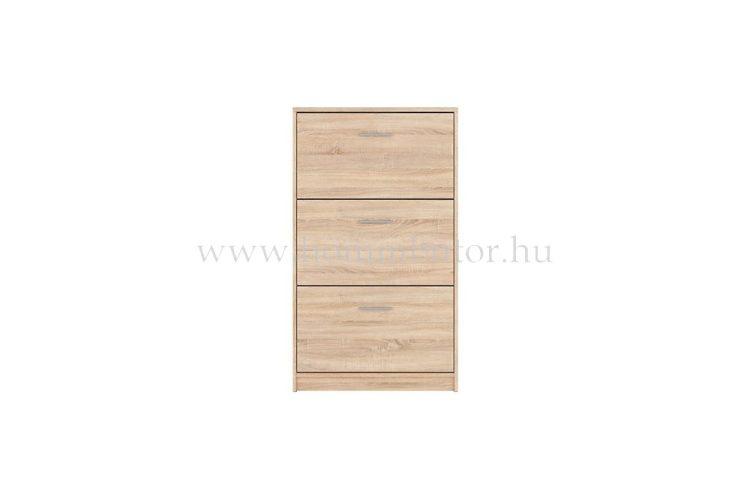 NEPO PLUS cipősszekrény 3 ajtós 70x121 cm
