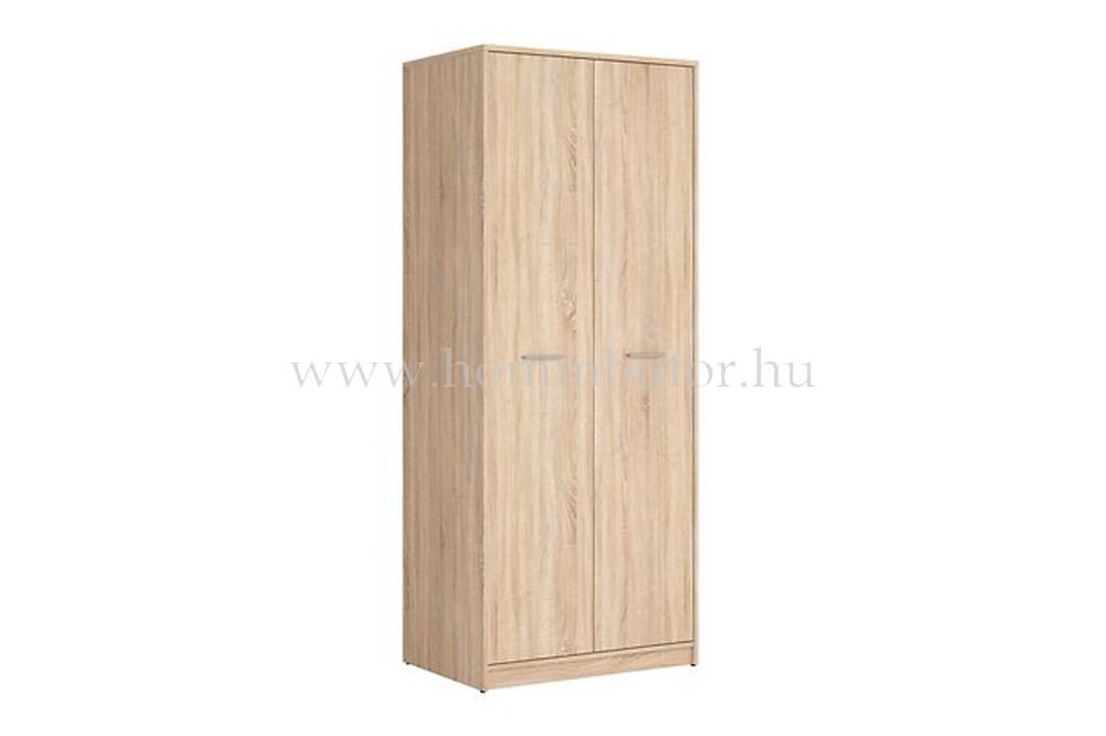 NEPO PLUS nyílóajtós gardróbszekrény 80x197 cm