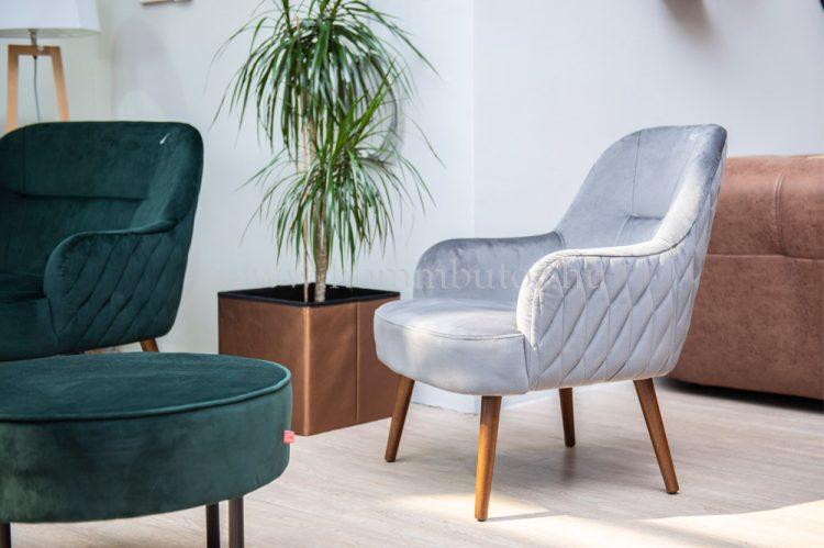 ODETT fix fotel steppeléssel 70x77 cm