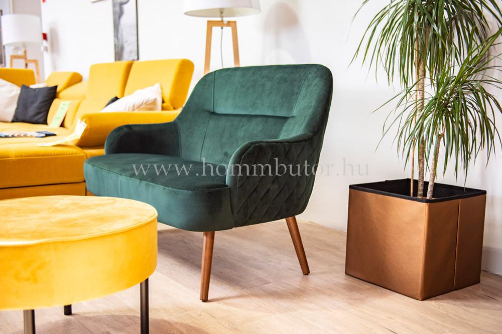 ODETT 2 üléses kanapé steppeléssel 123x85 cm