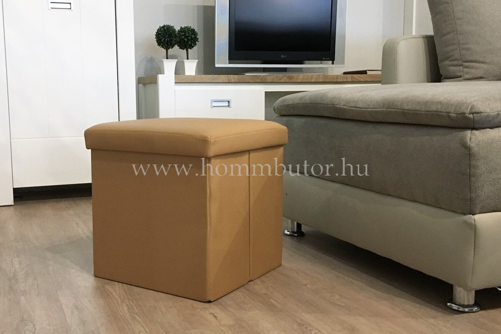 PACKAGE ülőke 40x40 cm bézs
