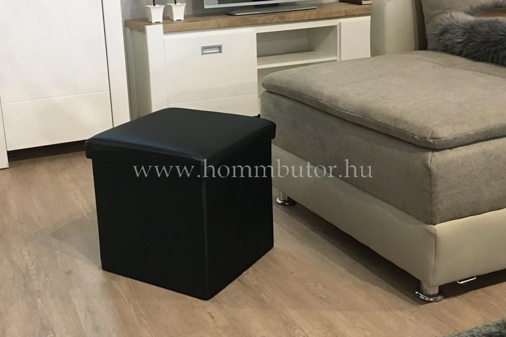 PACKAGE ülőke 40x40 cm fekete
