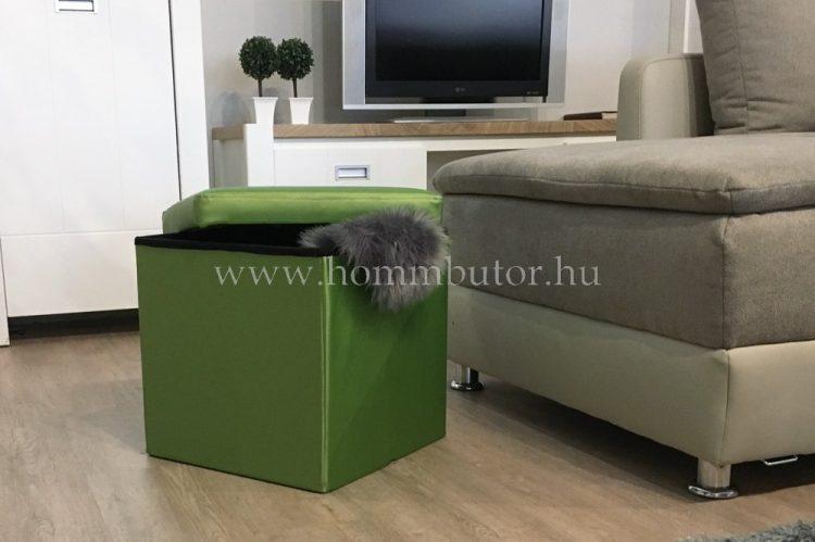 PACKAGE ülőke 40x40 cm kiwi zöld