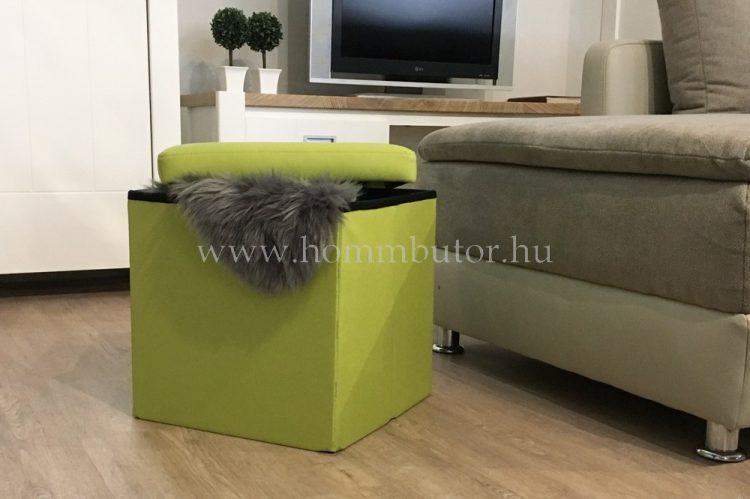PACKAGE ülőke 40x40 cm lime