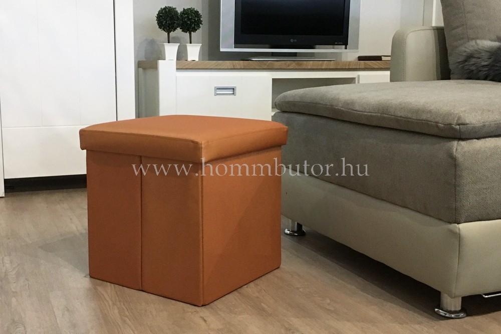 PACKAGE ülőke 40x40 cm narancs