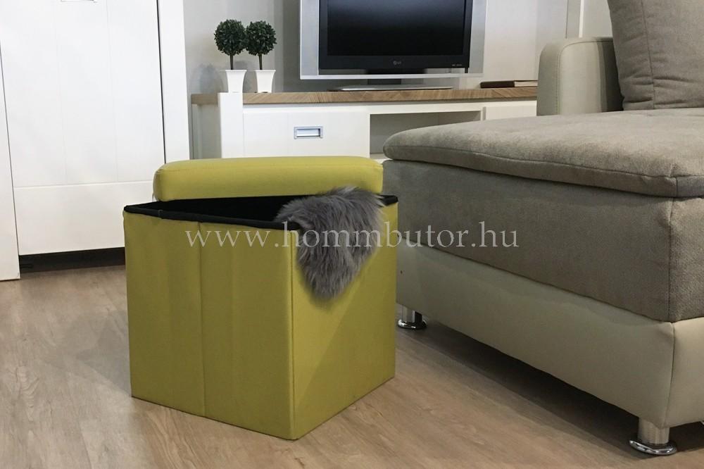 PACKAGE ülőke 40x40 cm pisztácia zöld