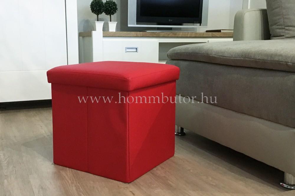 PACKAGE ülőke 40x40 cm piros