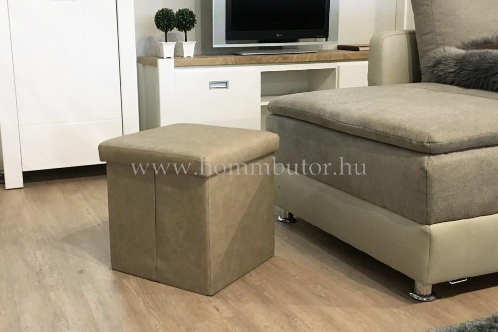 PACKAGE ülőke 40x40 cm taupe