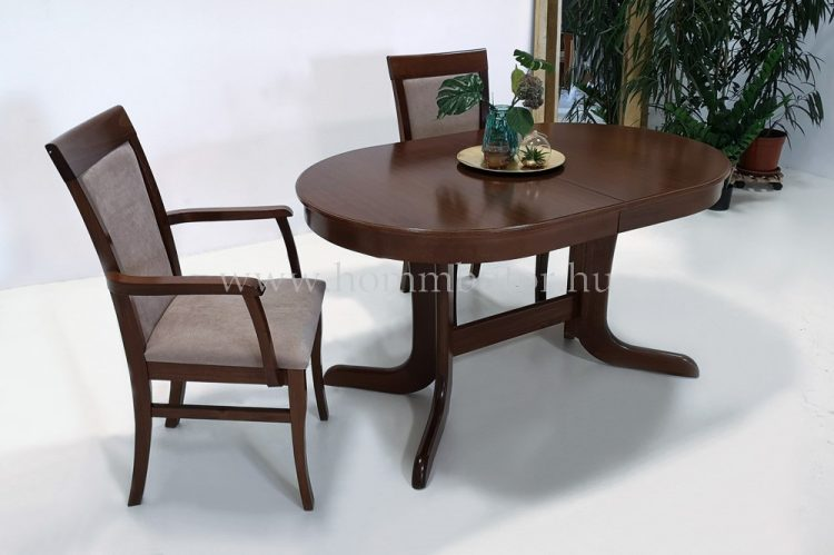 PALLAS étkezőasztal 140x90 cm bővíthető Elegant páccal
