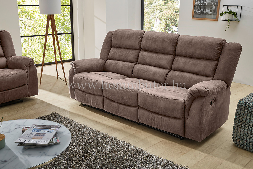 PARMA 3 üléses relax kanapé