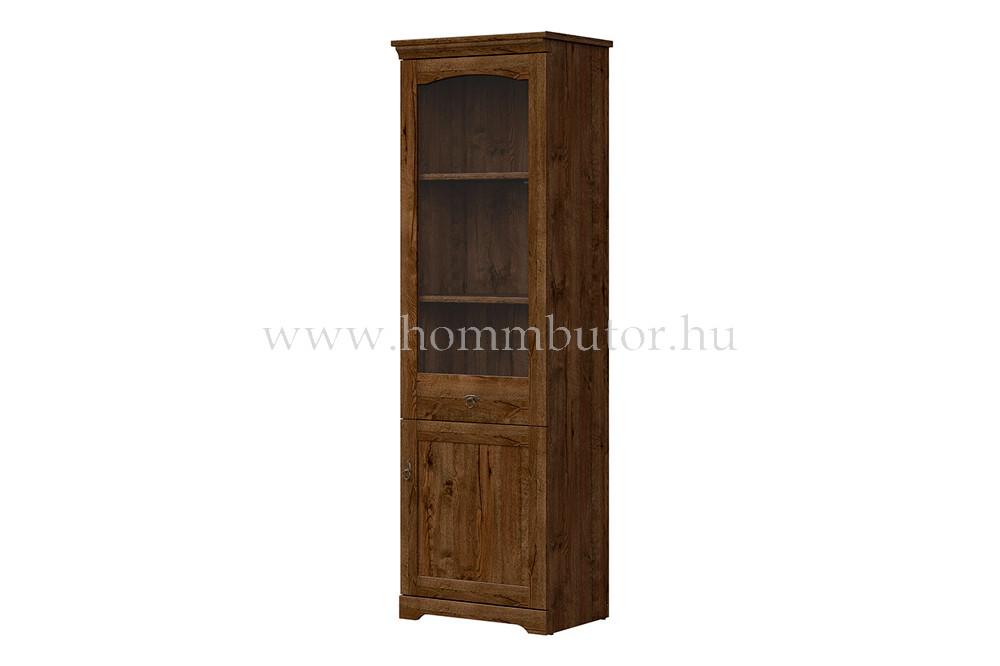 PATRAS vitrin 1 üvegajtós 1 ajtós 63x201 cm