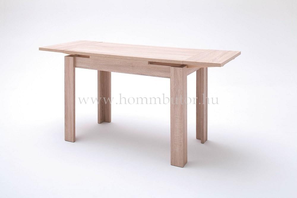 PLAY étkezőasztal 110x60 cm bővíthető erezett tölgy színben