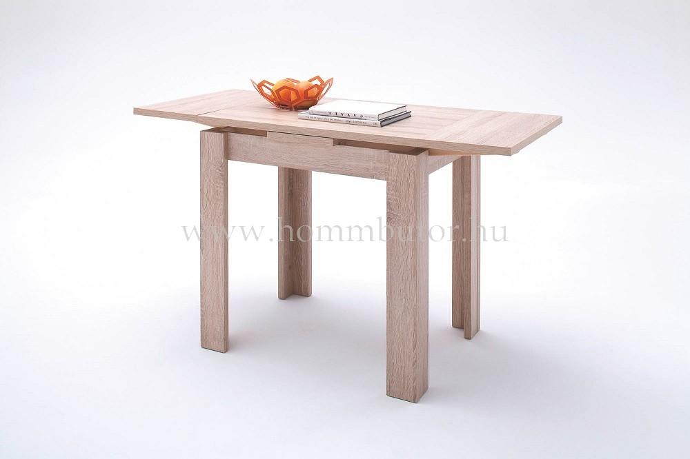 PLAY étkezőasztal 80x60 cm bővíthető San Remo tölgy színben