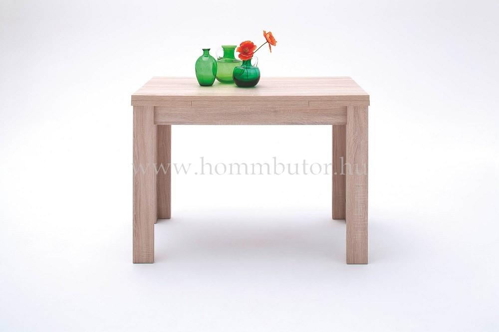 PLAY étkezőasztal 80x80 cm bővíthető erezett tölgy színben